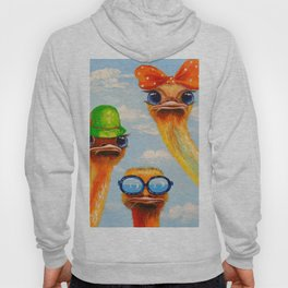 Ostriches friends Hoody