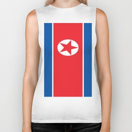 Flag of North Korea Biker Tank