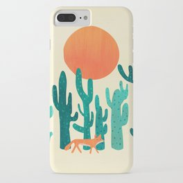Desert fox iPhone Case