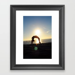 Acrobatics Framed Art Print