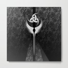 Modern Valkyrie Urban Camo Metal Print