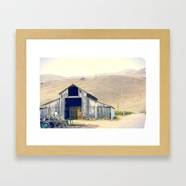 old house. Framed Art Print
