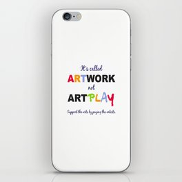 ARTWORK iPhone Skin