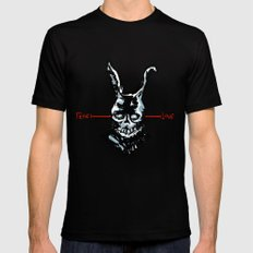 Donnie Darko: FEAR • FRANK • LOVE LARGE Black Mens Fitted Tee