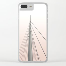Sunset Spire Clear iPhone Case