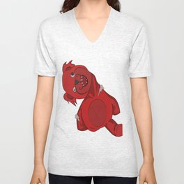 Bear Crazed Unisex V-Neck