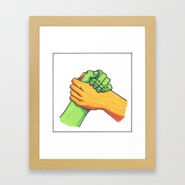 Hey Brother Framed Art Print