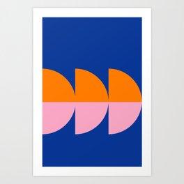 Spring- Pantone Warm color 02 Art Print