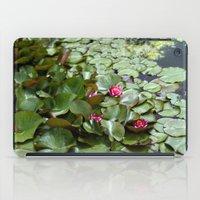lotus flower iPad Cases featuring Lotus by Melissa Schantz Photography