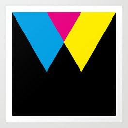 W like W Art Print