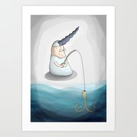 Fisher Art Print