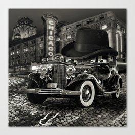 Don Cadillacchio Black and White Canvas Print