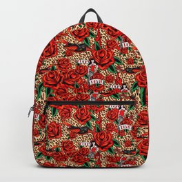 lucky devil pinup Backpack
