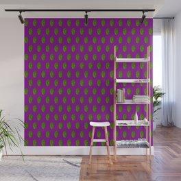 Hops Purple Pattern Wall Mural