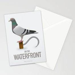 On The Waterfront - Alternative Movie Poster Stationery Cards