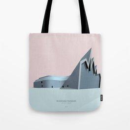 Riverside Museum Zaha Hadid Tote Bag
