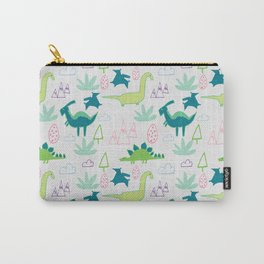 Dino Fun land Grey Carry-All Pouch