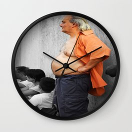 ItalianMan Wall Clock