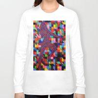 onward Long Sleeve T-shirts featuring Onward and Upward by Ana Lillith Bar