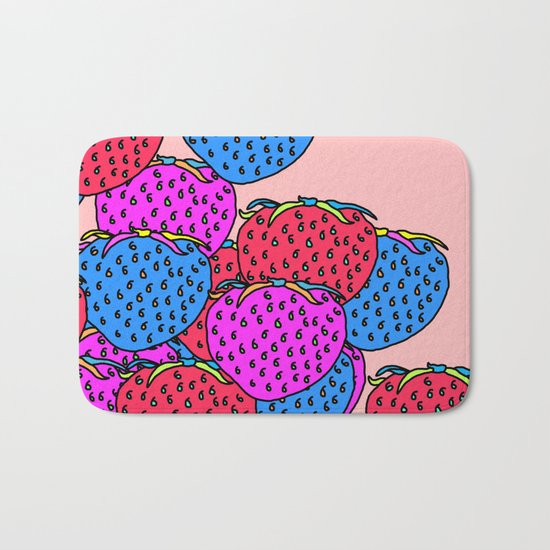Berry escalation Bath Mat