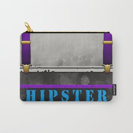Wanted Hipster Poster Carry-All Pouch
