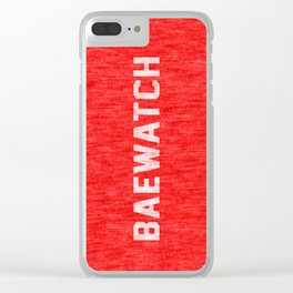 Baewatch Clear iPhone Case