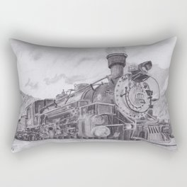 Durango and Silverton Steam Engine Rectangular Pillow