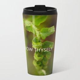 Know Thyself Metal Travel Mug