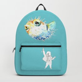 Pufferfish - Puffed up Backpack