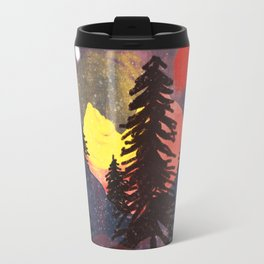 Lost in the Color... Travel Mug