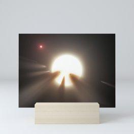 Artist's Impression - Swarm of Shattered Comets (2015) Mini Art Print