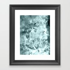 Sea WateR Nebula Framed Art Print