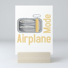 Funny Travel designs for Men and Women - Frequent Flyer Gift Mini Art Print