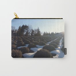 Lavender at Lake Kawagoe Carry-All Pouch