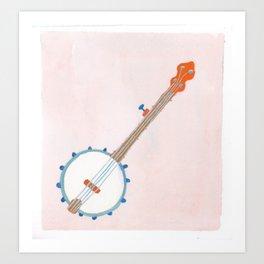 Southern Hygge: Banjo Art Print