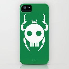 Skull Bugs iPhone Case