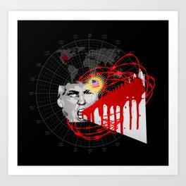 """I can feel"" terrorism. Art Print"
