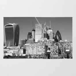 City Of London Skyline Rug