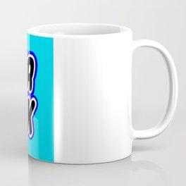 SUPER FREEK in Brick Font Logo Design [Alternate Colors] by Chillee Wilson Coffee Mug