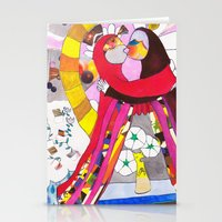 theatre Stationery Cards featuring Theatre Kiss by Hobocats