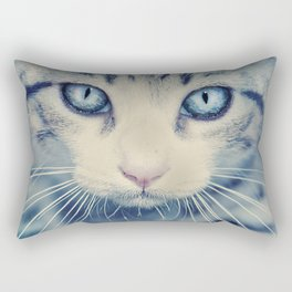 Ice neko Rectangular Pillow