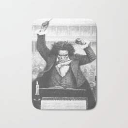 Beethoven Bath Mat