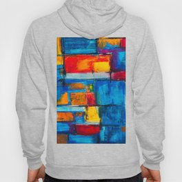 painting abstract Hoody