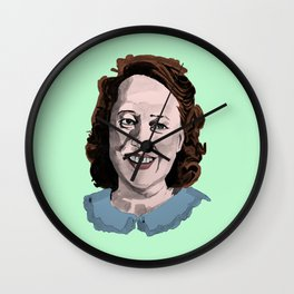 Happy Annie Wilkes - Misery (Green) Wall Clock