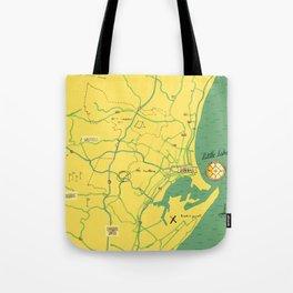 Maps - Durban Tote Bag