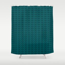 Shaded Spruce Leaves Shower Curtain