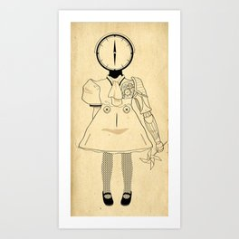 Time Well Spent Art Print