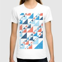triangles T-shirts featuring TRIANGLES  by parallelish