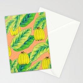 Banana Jungle - Peach Stationery Cards