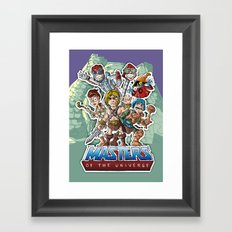 masters Framed Art Print